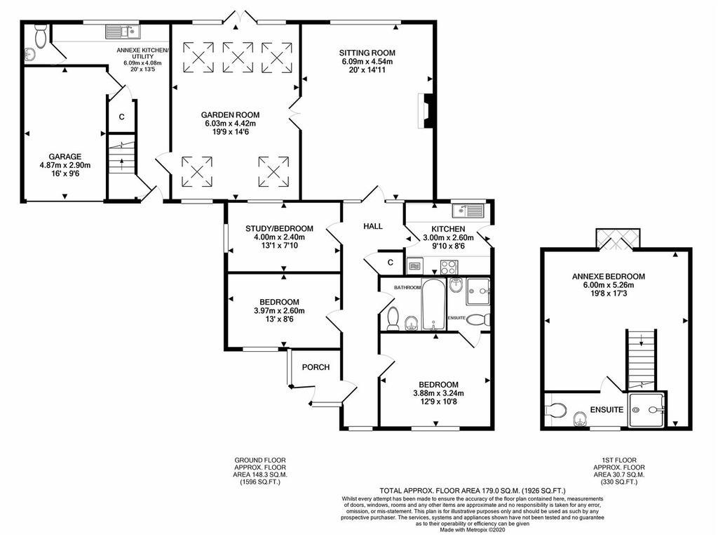 Floorplan: Wagon House East Combe print.JPG