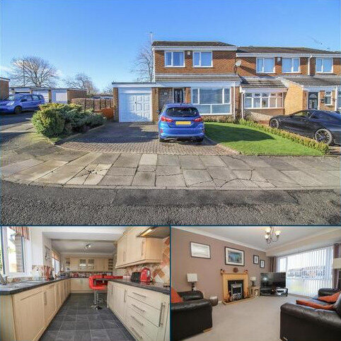 3 bedroom semi-detached house for sale - Lydford Court, Newcastle Upon Tyne