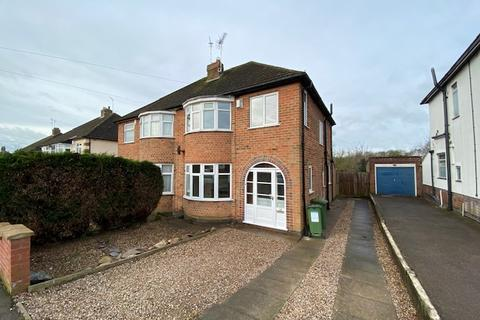 3 bedroom semi-detached house to rent - Greendale Road, Leicester, , LE2 9HB