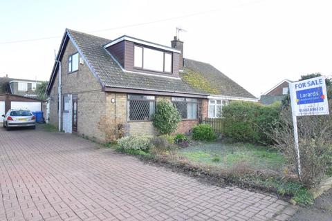 3 bedroom semi-detached bungalow for sale - Church Lane, Thorngumbald
