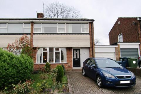 3 bedroom semi-detached house for sale - Lindale Avenue, Whickham, Newcastle Upon Tyne, NE16 5QT