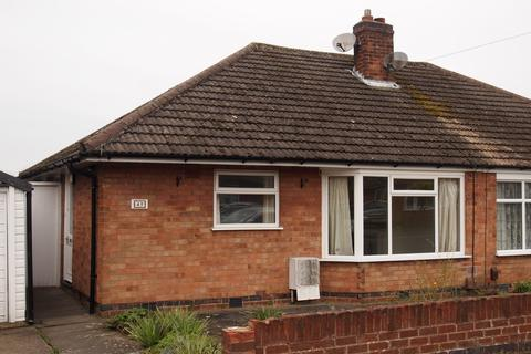 2 bedroom semi-detached bungalow to rent - Davenport Avenue , Oadby, Leicester