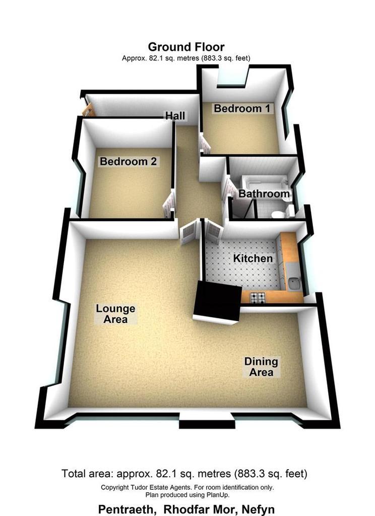 Floorplan 1 of 2: Pentraeth, Rhodfa r Mor, Nefyn.jpg