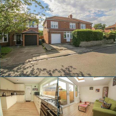 4 bedroom semi-detached house for sale - Elmcroft Road, Forest Hall