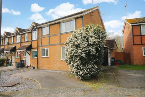 1 bedroom end of terrace house for sale - Briarwood Close, Feltham, TW13