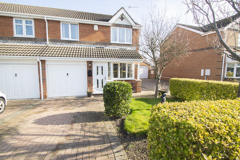 3 bedroom semi-detached house for sale - Applewood Close, Clavering, Hartlepool TS27
