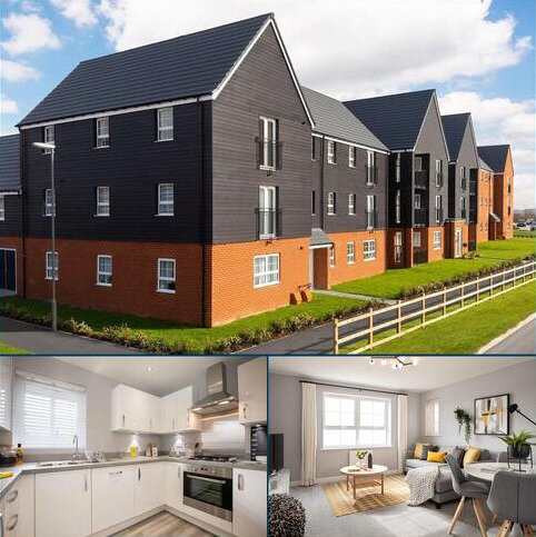 2 bedroom apartment for sale - Plot 105, Ambersham at Barratt Homes at Kingsbrook, Burcott Lane, Aylesbury, AYLESBURY HP22
