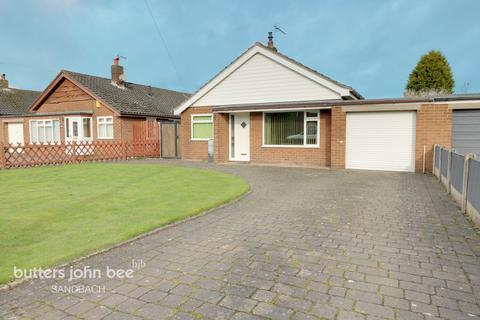 3 bedroom detached bungalow for sale - Heath Road, Sandbach