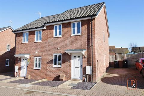 2 bedroom semi-detached house for sale - Popular Road, Great Blakenham