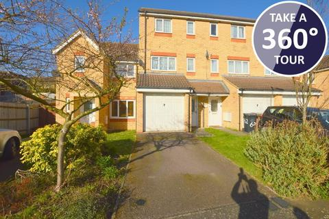 3 bedroom terraced house for sale - Dunraven Avenue, Dallow Road, Luton, Bedfordshire, LU1 1TP
