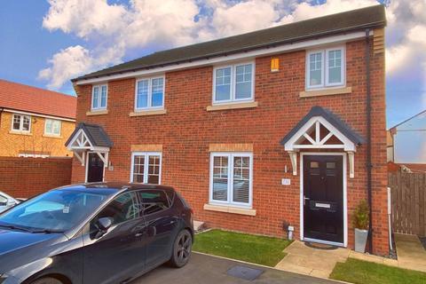 3 bedroom semi-detached house for sale - Arnside Close, Rowan Garth, Redcar
