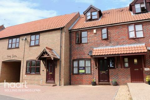 3 bedroom terraced house for sale - County Gardens, Terrington St Clement