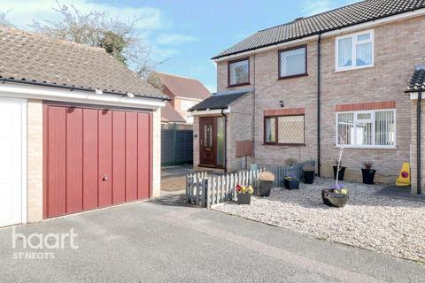 2 bedroom semi-detached house for sale - Cunningham Way, St Neots