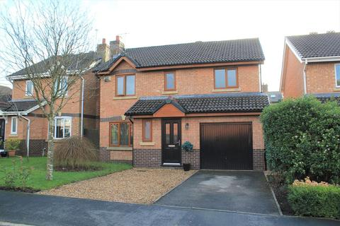 4 bedroom detached house for sale - Chestnut Crescent, Barrow, Clitheroe, Lancashire. BB7 9FD