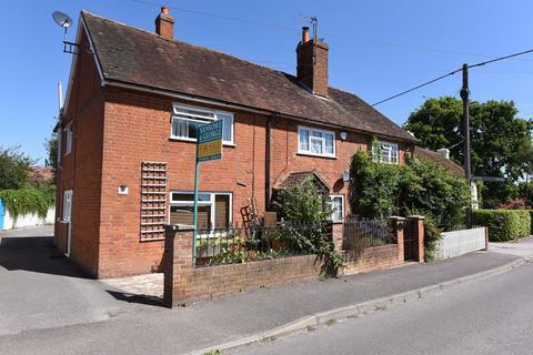 2 bedroom end of terrace house for sale - Southern Cottages, Goddards Lane, Sherfield-on-Loddon, Hook, RG27