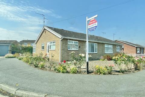 2 bedroom semi-detached bungalow for sale - Hazel Close, Driffield