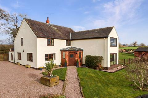 4 bedroom property with land for sale - Bunsley Bank Farm, Bunsley Bank, Cheshire