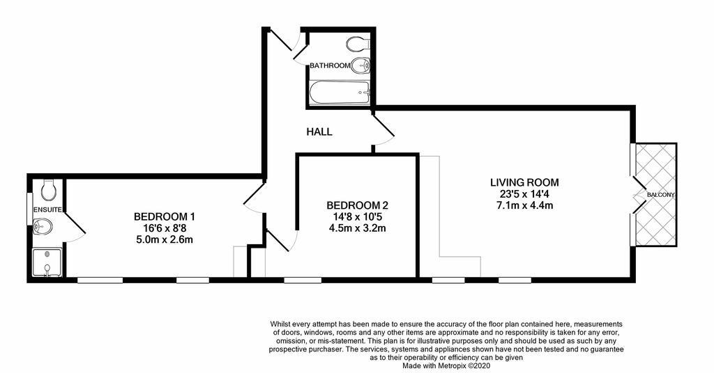 Floorplan: Flat 3