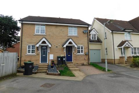 2 bedroom semi-detached house for sale - Nightingale Close, Stowmarket