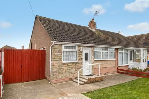 3 bedroom semi-detached bungalow for sale - Bangor Crescent, Prestatyn