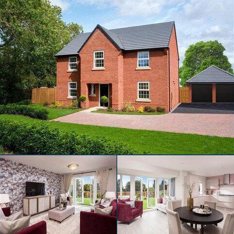 4 bedroom detached house for sale - Plot 373, Winstone at Wigston Meadows, Newton Lane, Wigston, WIGSTON LE18