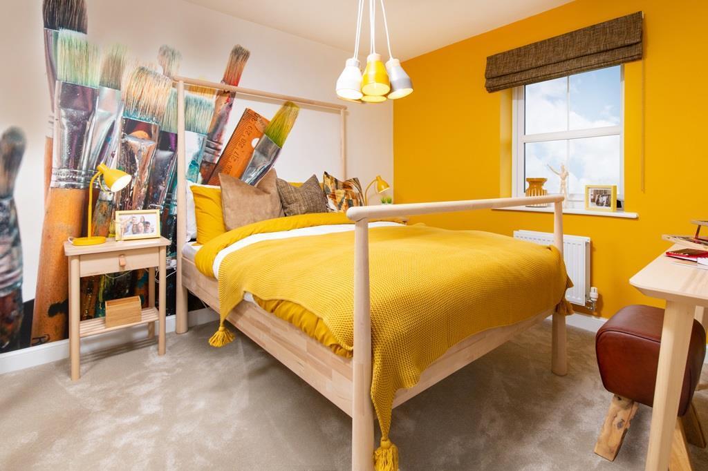 Fourth bedroom in the Halton