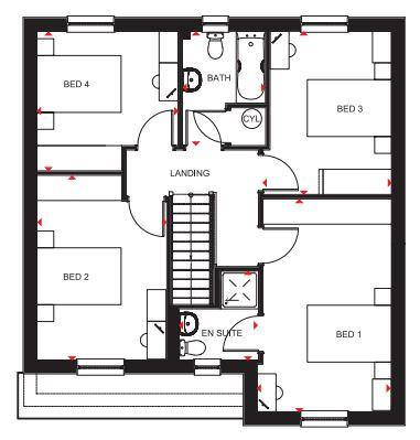 Floorplan 2 of 2: The Inveraray