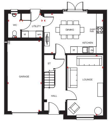 Floorplan 1 of 2: The Inveraray