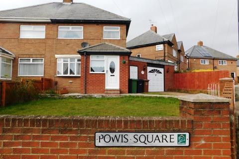 3 bedroom semi-detached house for sale - POWIS SQUARE, PLAINS FARM, SUNDERLAND SOUTH