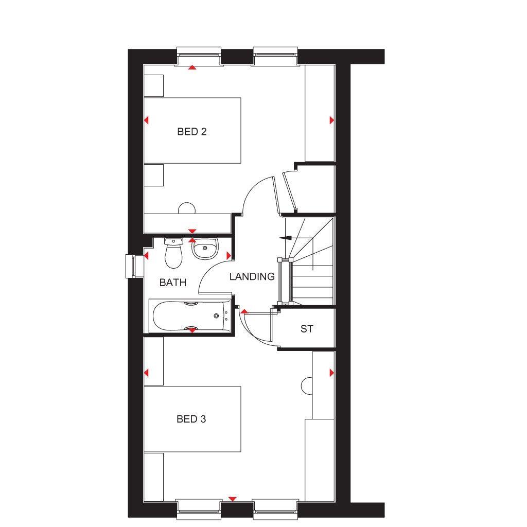 Floorplan 3 of 3: Faversham SF