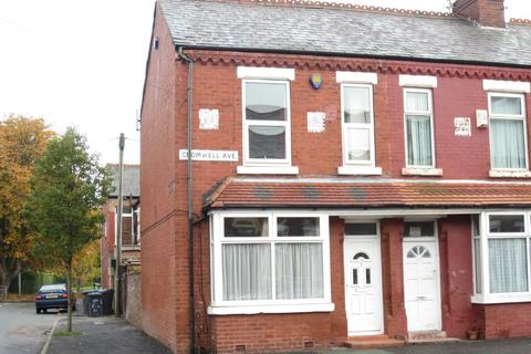 3 bedroom terraced house to rent - Cromwell Avenue, Whalley Range, Manchester, M16