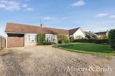 3 bedroom semi-detached bungalow for sale - Hockey Hill, Wetheringsett