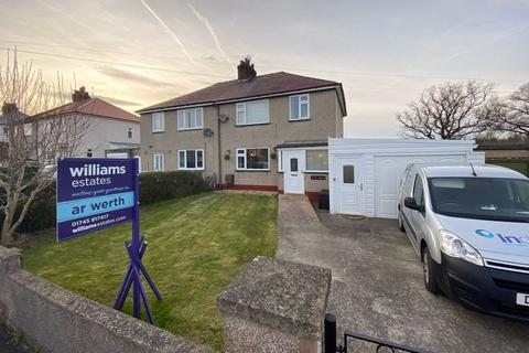 3 bedroom semi-detached house for sale - Maes Gruffydd, Trefnant