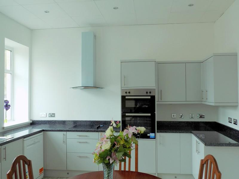Another aspect of open plan kitchen area