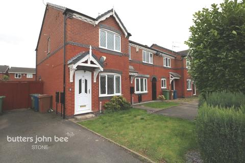 2 bedroom semi-detached house for sale - Saxifrage Drive, Stone