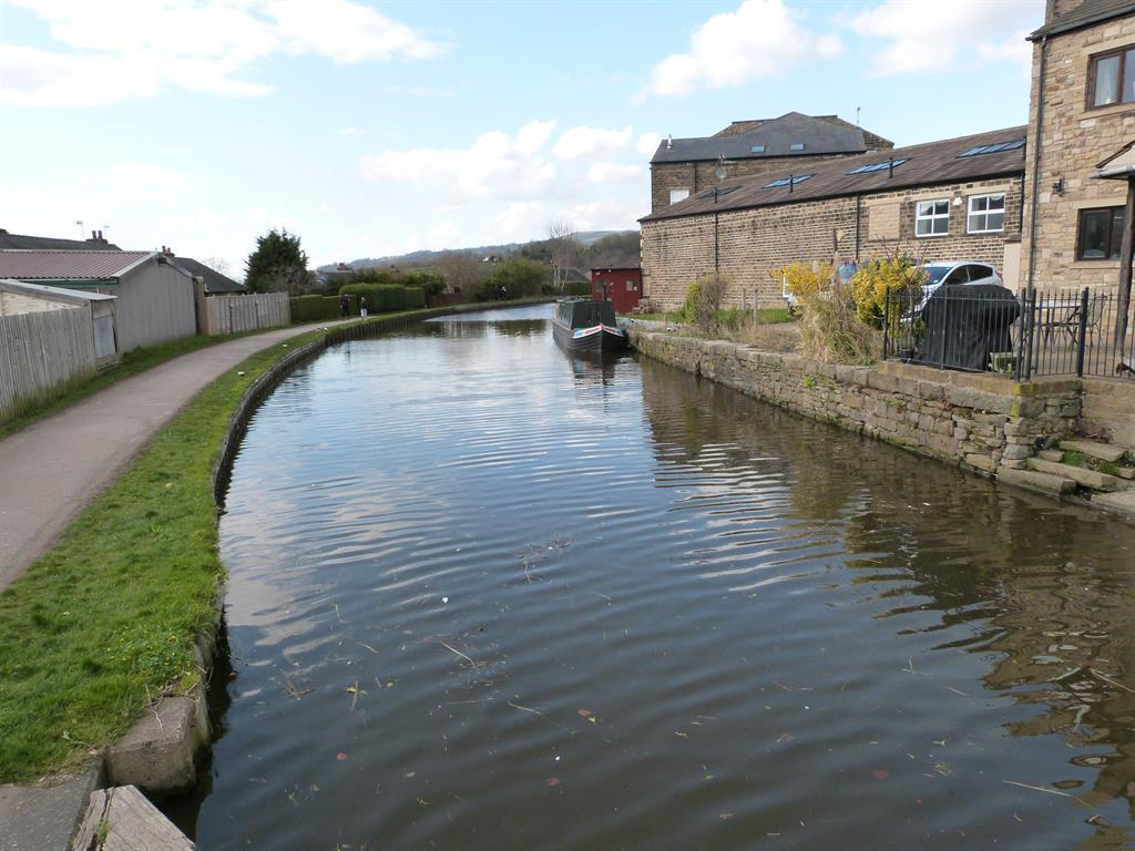 Waterside canal