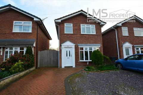 3 bedroom detached house for sale - Allgreave Close, Middlewich