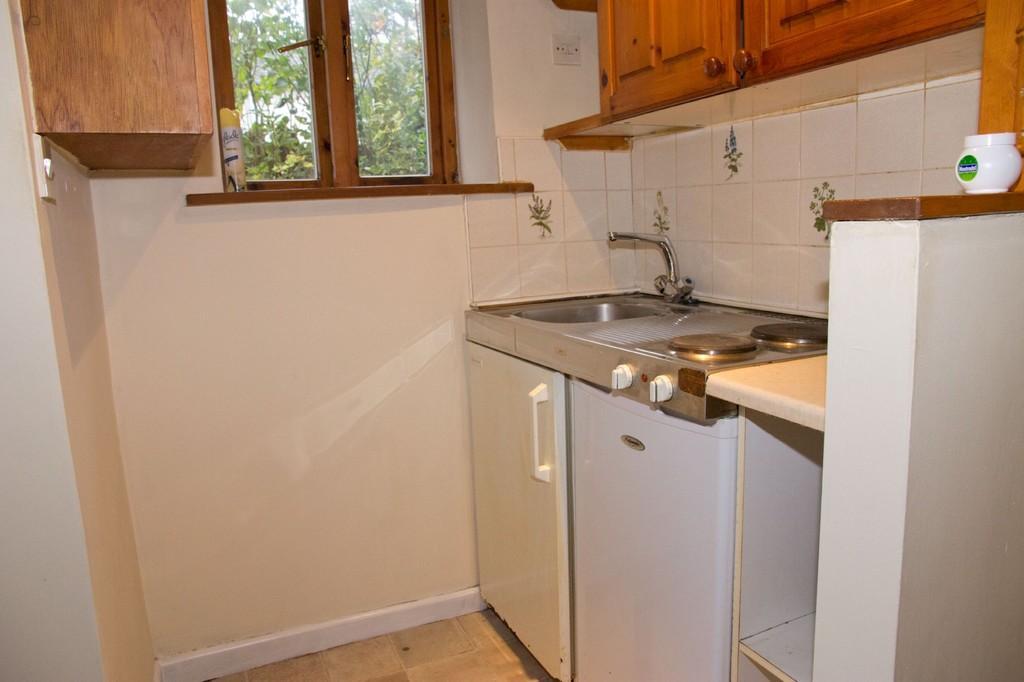 Basement kitchen area