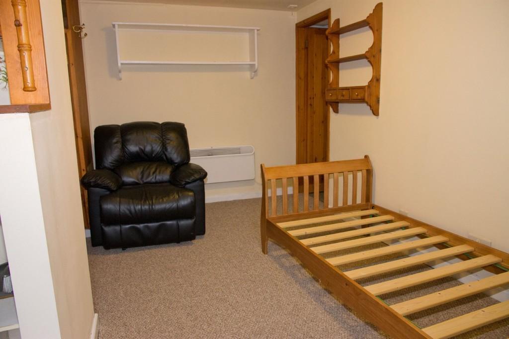 Basement bedsitting room