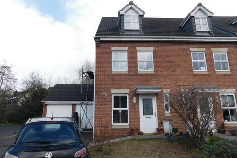 3 bedroom townhouse for sale - Ensor Close, Swadlincote, DE11