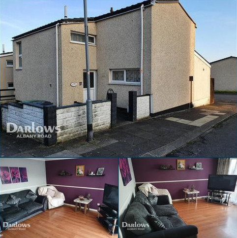 2 bedroom end of terrace house for sale - Brynfedw, Cardiff
