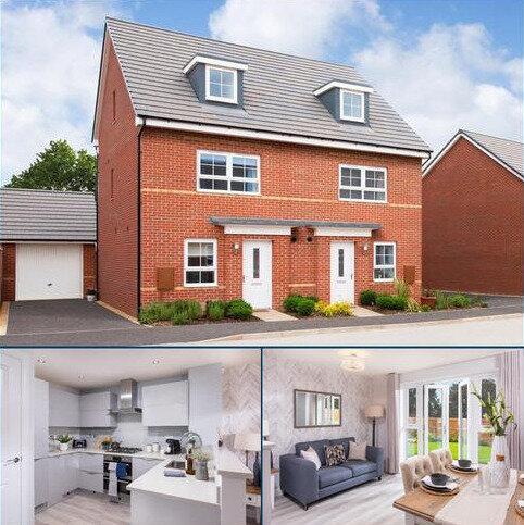 4 bedroom semi-detached house for sale - Plot 182, KINGSVILLE at Barratt Homes @Mickleover, Etwall Road, Mickleover, DERBY DE3