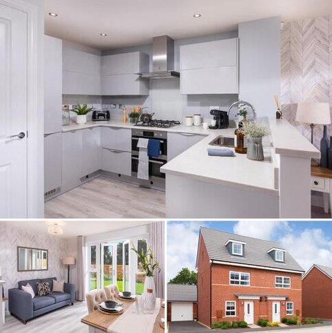 4 bedroom semi-detached house for sale - Plot 182, KINGSVILLE at Barratt Homes @Mickleover, Kensey Road, Mickleover, DERBY DE3