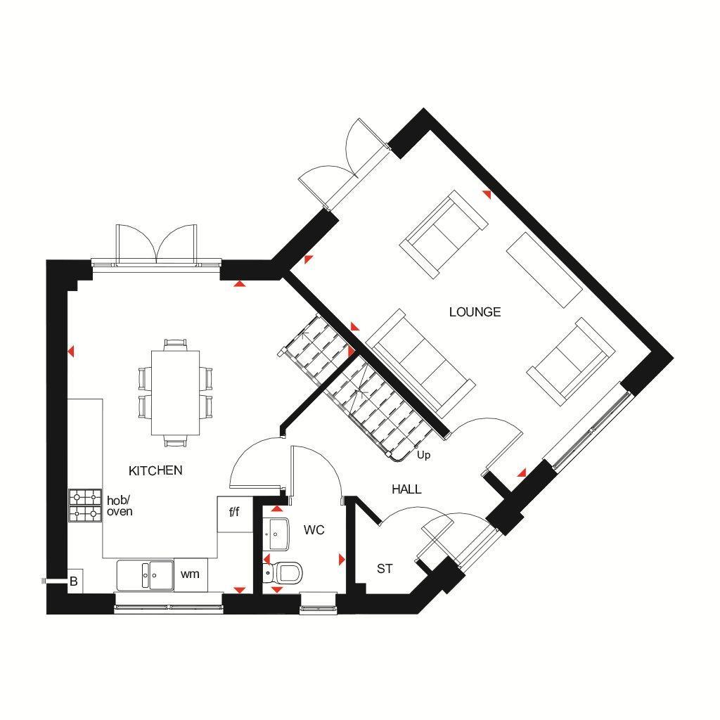 Floorplan 1 of 2: Eskdale GF