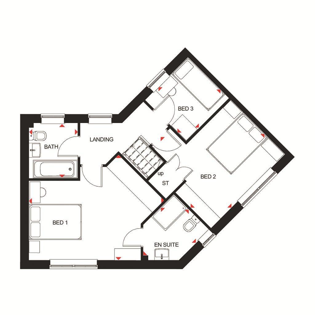 Floorplan 2 of 2: Eskdale FF