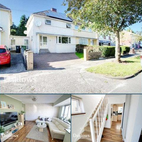 3 bedroom semi-detached house for sale - Harris Avenue, Cardiff