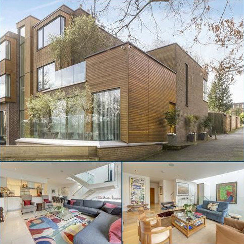 4 bedroom semi-detached house for sale - Tercelet Terrace, Oak Hill Park, Hampstead, London, NW3