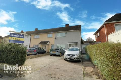 2 bedroom end of terrace house for sale - Amethyst Road, Cardiff