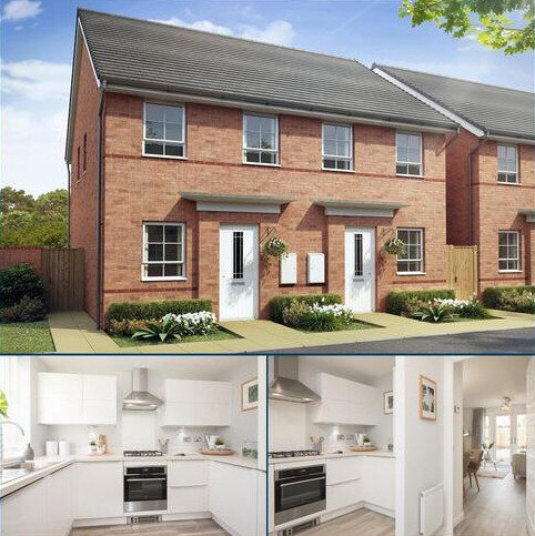 2 bedroom semi-detached house for sale - Plot 108, Richmond at Hunter's Chase, Elms Road, Red Lodge, BURY ST EDMUNDS IP28