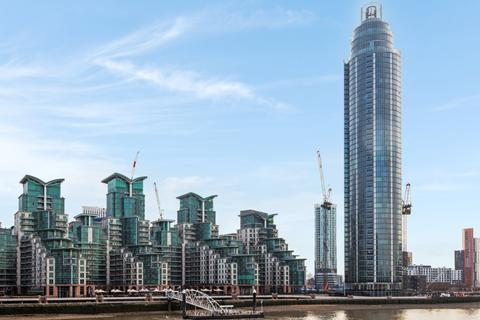 2 bedroom apartment for sale - The Tower, St. George Wharf, Vauxall SW8